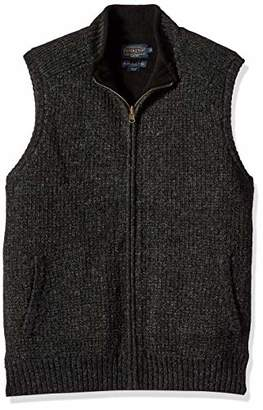 Pendleton Men's Reversible Fleece Sweater Vest