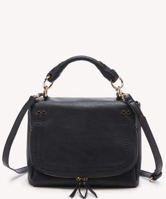 Sole Society Women's Rubie Crossbody Vegan Bag Black Vegan Leather From