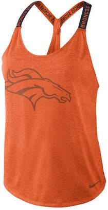 Nike Women's Denver Broncos Elastika Tank Top