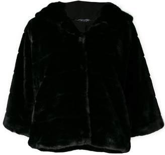 Liu Jo faux fur hooded jacket