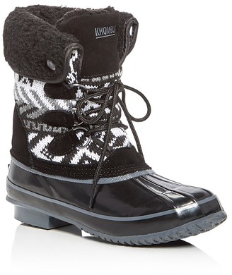 Khombu Mayana Cold Weather Boots $109 thestylecure.com