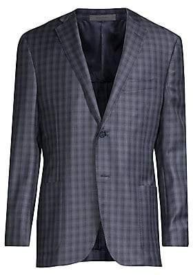 Corneliani Men's Gate Plaid Sportcoat