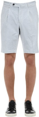 G・T・A Gta Cotton Seersucker Shorts