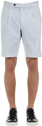 G・T・A Cotton Seersucker Shorts