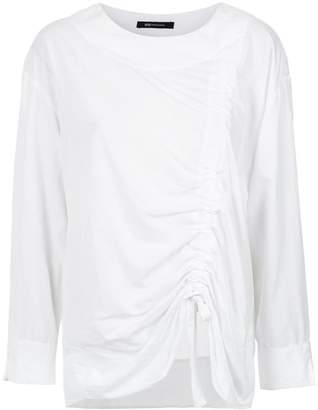 Uma Raquel Davidowicz Chef draped blouse