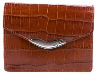 Ralph Lauren Embossed Leather Wallet