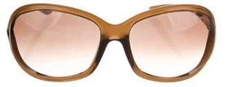Tom Ford Jennifer Oversize Sunglasses