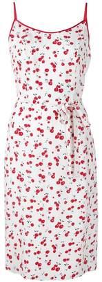 HVN cherry print dress