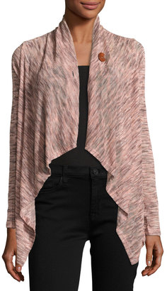 Bobeau One-Button Relaxed Cardigan, Multi $39 thestylecure.com