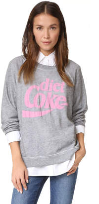 Wildfox Diet Coke Sweatshirt $114 thestylecure.com