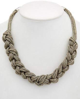 Lafayette 148 New York Braided Signature Mesh Necklace