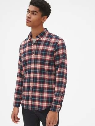 Gap Standard Fit Flannel Pocket Shirt