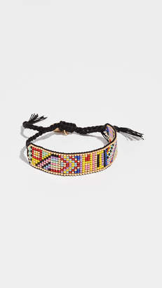 Venessa Arizaga Rainbow Hi Friendship Bracelet