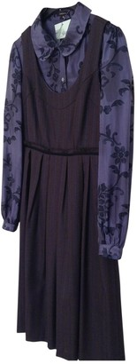 Tocca Multicolour Wool Dress for Women