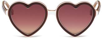 Sons+Daughters Eyewear 'Lola' heart frame acetate kids sunglasses
