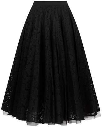 Max Mara Lace Midi Skirt