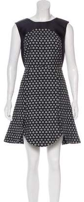 Antonio Berardi Textured A-Line Dress