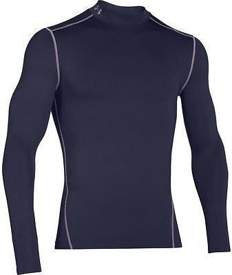 Under Armour ColdGear Armour Compression Mock-Neck Shirt - Men's