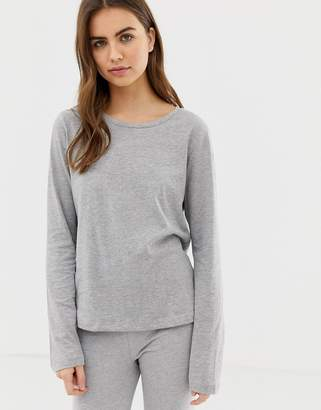 Asos Design Mix & Match Long Sleeve Pyjama jersey Top
