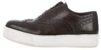 Louis Vuitton Brogue Platform Sneakers