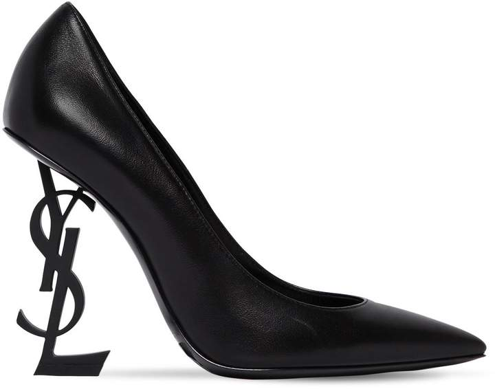 110mm Opyum Leather Pumps