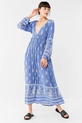 Raga Nina Plunging Boho Maxi Dress