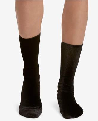 Hue Velvet Socks