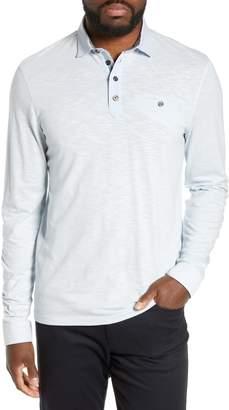 Ted Baker Hoper Slim Fit Long Sleeve Pocket Polo