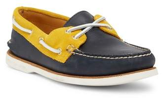 Sperry Gold Cup Authentic Original Leather 2-Eye Boat Shoe