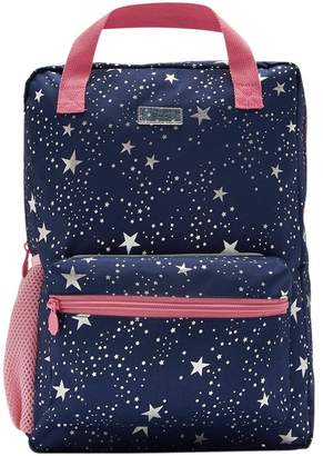 Joules Girls Easton Square Backpack - Blue