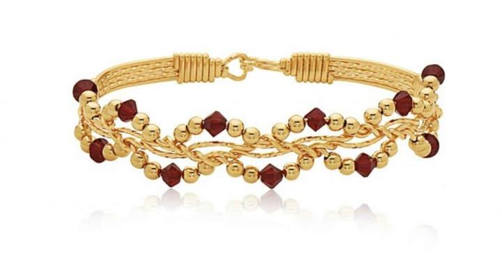 Ronaldo Designer Jewelry Forget Me Not Bracelet