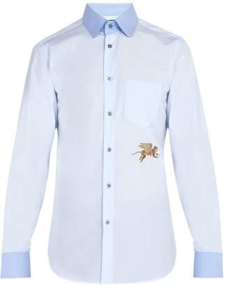 Gucci Flying Tiger cotton-poplin shirt