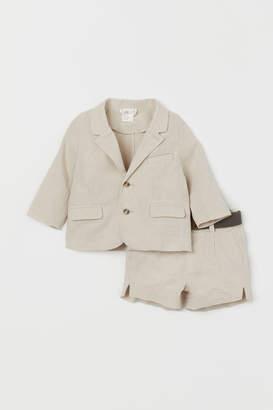 H&M Jacket and shorts