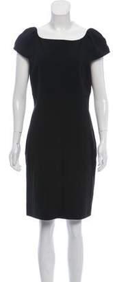 Diane von Furstenberg Short Sleeve Casual Dress