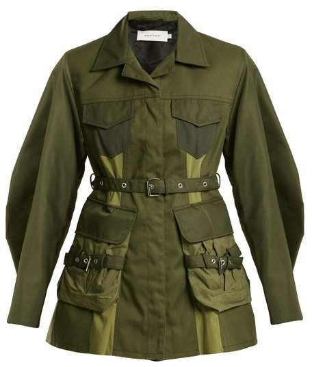 MARQUES'ALMEIDA Cargo-pocket military jacket