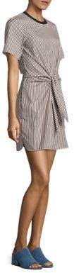 3.1 Phillip Lim Cotton & Silk Tie-Front Dress $475 thestylecure.com