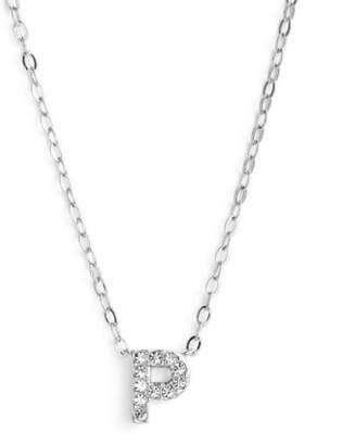 Nadri Initial Pendant Necklace