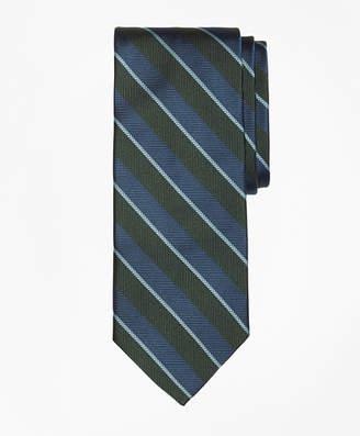 Brooks Brothers Sidewheeler Guard Stripe Tie