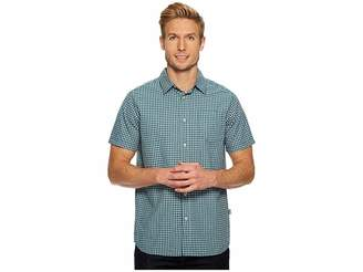 The North Face Short Sleeve Shadow Gingham Shirt Men's Short Sleeve Button Up