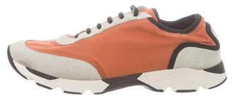 Marni Round-Toe Low-Top Sneakers