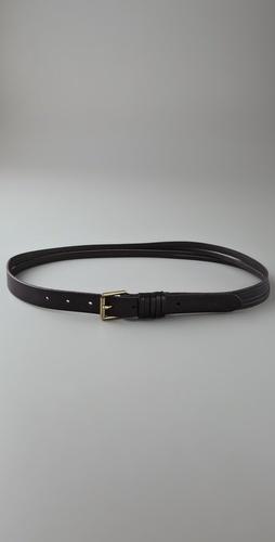Linea pelle Skinny Sliced Hip Belt