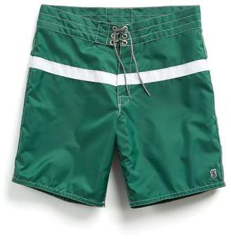 Todd Snyder Birdwell Beach Britches for Exclusive Birdwell 311 Board Shorts in Green Surf Stripe
