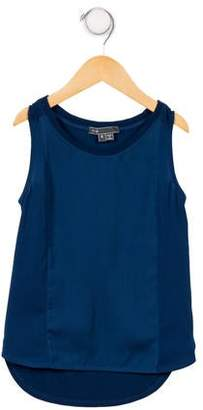 Vince Girls' Sleeveless Knit Top