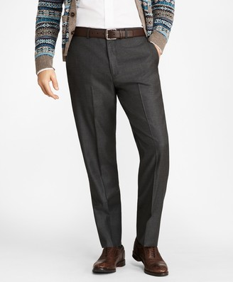 Brooks Brothers Madison Fit Stretch Wool Trousers