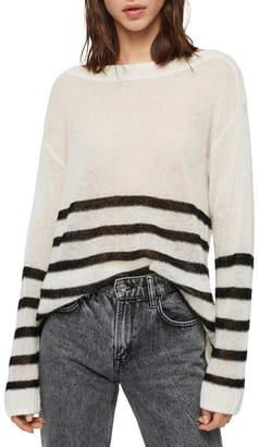 AllSaints Lune Boat Neck Sweater