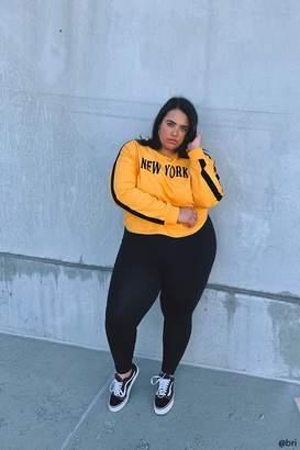 7c59acb90e3 Forever 21 Black Plus Size Sweats   Hoodies - ShopStyle Canada