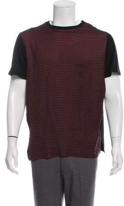 Lanvin Satin Short Sleeve T-Shirt