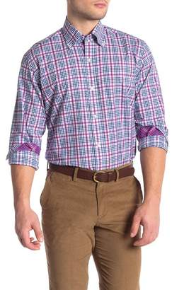Tailorbyrd Plaid Long Sleeve Shirt (Big & Tall)