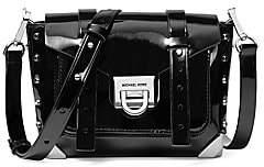 Michael Kors Women's Small Manhattan Patent Leather Crossbody Bag