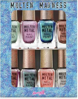Barry M Cosmetics Molten Madness Nail Paint Set x 8